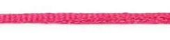 SR1701 Satijnkoord 3mm 20mtr SF-175 shoking pink
