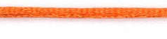 SR1701 Satijnkoord 3mm 20mtr SF-750 torid orange