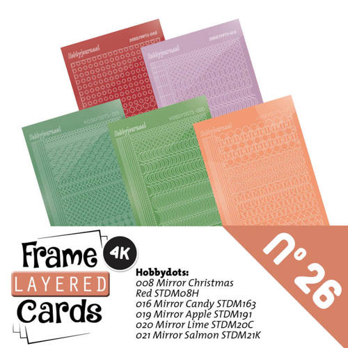 LCST026 Frame Layered Cards 26 - Stickerset