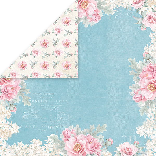 CP-PW03 PASTEL WEDDING Scrapbooking single paper 12x12, 200gsm