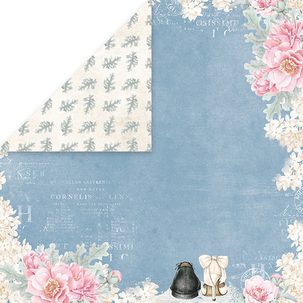 CP-PW05 PASTEL WEDDING Scrapbooking single paper 12x12, 200gsm