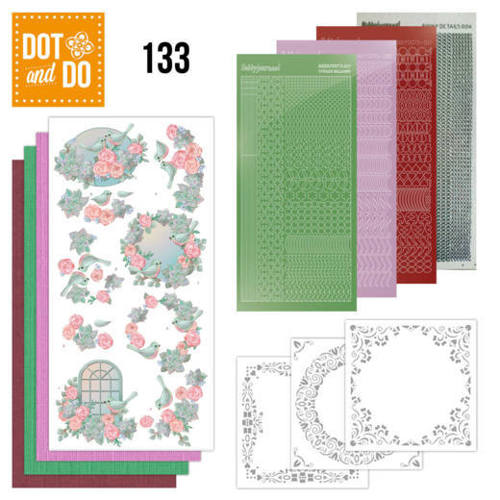 DODO133 Dot and Do 133 - Birds and Roses