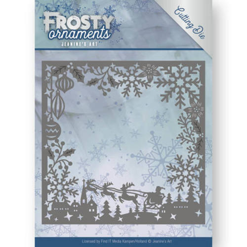 JAD10041 Dies - Jeanine's Art - Frosty Ornaments - Frosty Frame