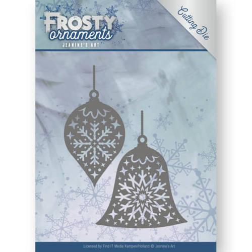 JAD10043 Dies - Jeanine's Art - Frosty Ornaments - Christmas Baubles