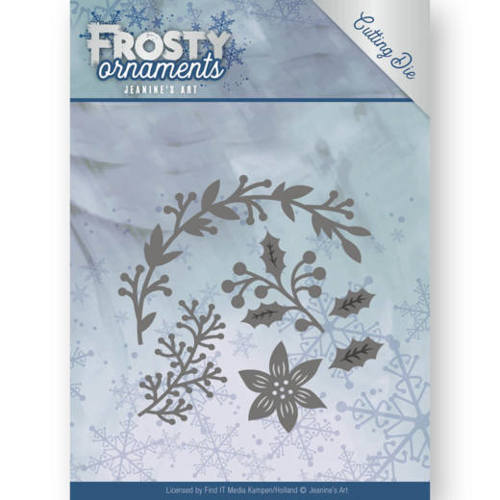 JAD10049 Dies - Jeanine's Art - Frosty Ornaments - Christmas Branches