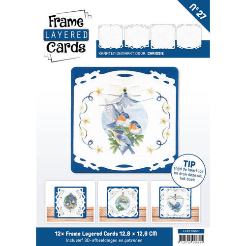 LC4K10027 Frame Layered Cards 27 - 4K