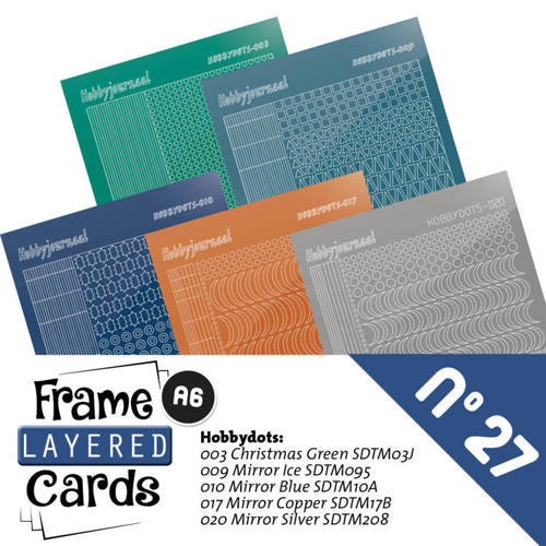 LCST027 Frame Layered Cards 27 - Stickerset