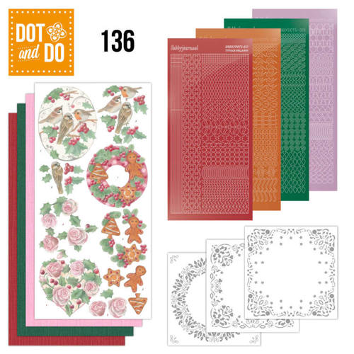 DODO136 Dot and Do 136 - Christmas Florals
