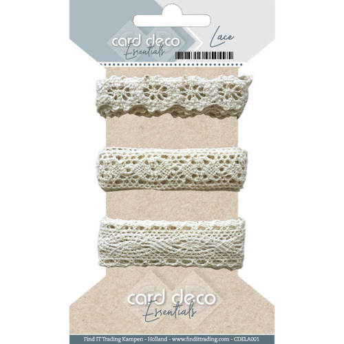 CDELA001 Card Deco Essentials - Lace