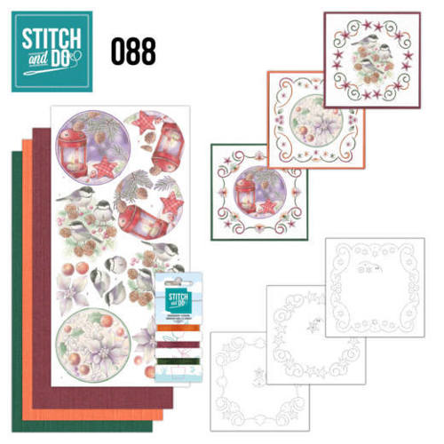 STDO088 Stitch and Do 88 - Christmas Florals