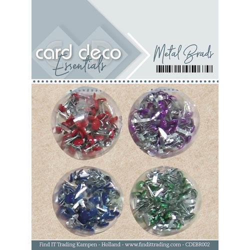 CDEBR002 Card Deco Essentials - Metal Brads