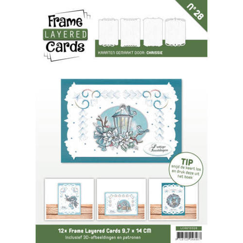 LCA610028 Frame Layered Cards 28 - A6