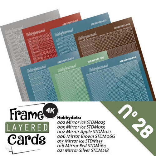LCST028 Frame Layered Cards 28 - Stickerset