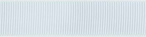SR1402/25 PG029 Grosgrain Ribbons 25mm 20mtr white