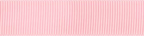 SR1402/25 PG117 Grosgrain Ribbons 25mm 20mtr baby pink