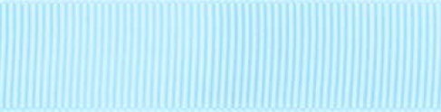 SR1402/25 PG305 Grosgrain Ribbons 25mm 20mtr baby blue