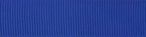 SR1402/25 PG350 Grosgrain Ribbons 25mm 20mtr royal blue