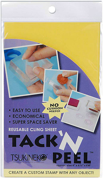 TP-000-001 Tsukineko Tack'n Peel reausable cling sheets