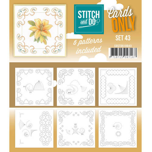COSTDO10043 Cards only Stitch 43