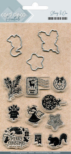 CDESD003 Clear stamps & Cutting Die