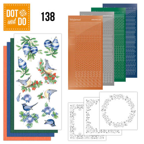 DODO138 Dot and Do 138 Blue Christmas