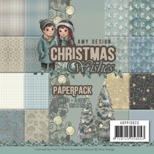 ADPP10023 Paperpack - Amy Design - Christmas Wishes