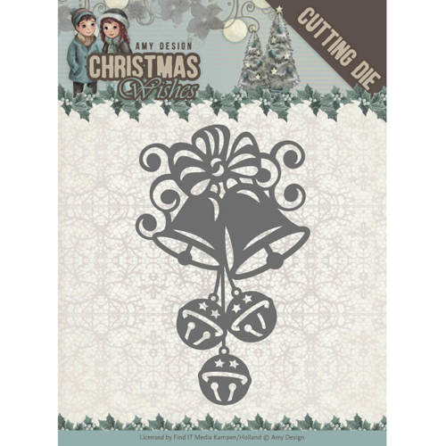 ADD10151 Dies - Amy Design - Christmas Wishes - Christmas Bells