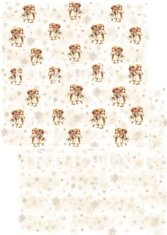 RP0239 Nordic Light Collection Patterned paper 12x12, 200 gm Children