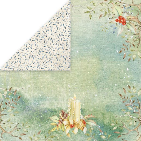 CP-WDR04 WINTER DREAM Scrapbooking single paper 12x12, 200gsm
