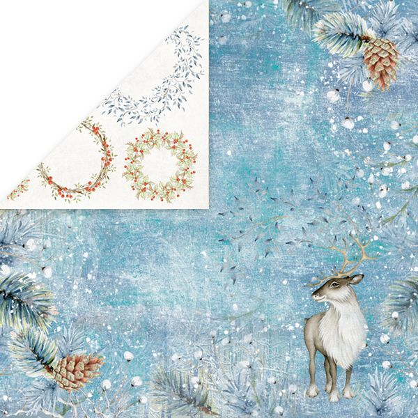 CP-WDR05 WINTER DREAM Scrapbooking single paper 12x12, 200gsm