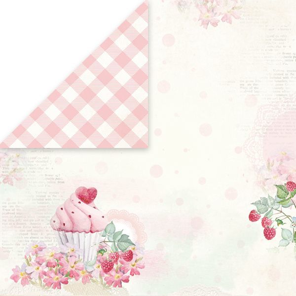 CP-SD01 SWEET DESSERT Scrapbooking single paper 12x12, 200gsm