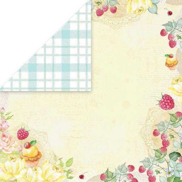 CP-SD03 SWEET DESSERT Scrapbooking single paper 12x12, 200gsm