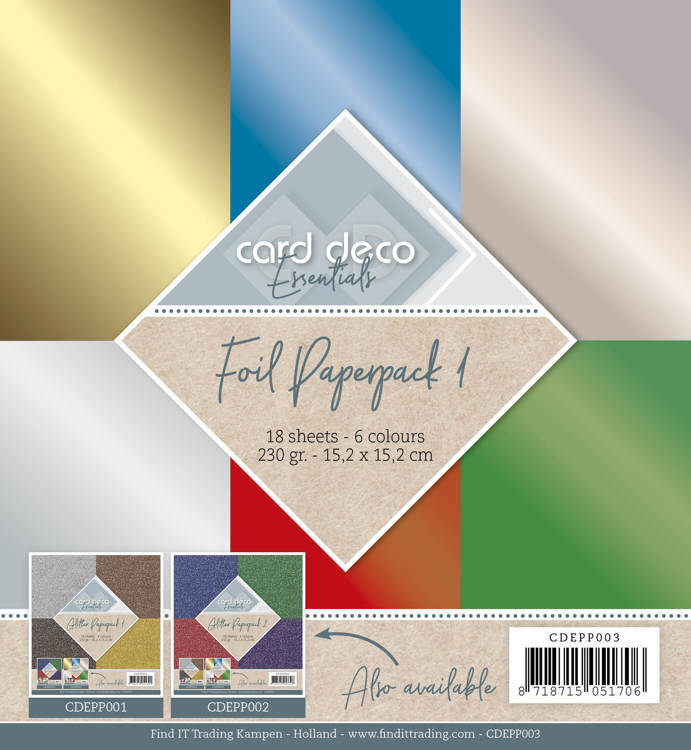 CDEPP003 Foil Paperpack