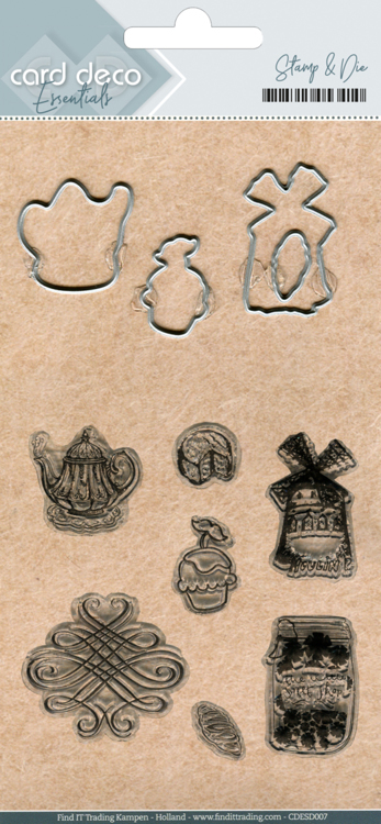 CDESD007 Clear stamps & Cutting Die