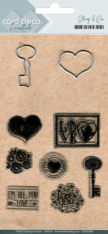 CDESD009 Clear stamps & Cutting Die