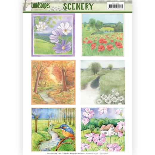 CDS10005 Scenery - Jeanine's Art - Landscapes - Landscape Square