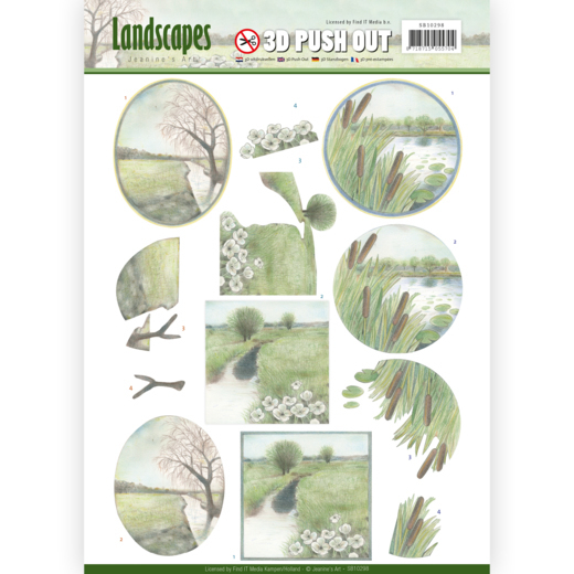 SB10298 3D Pushout - Jeanine's Art - Landscapes - Winter Landscapes