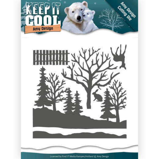 ADD10160 Dies - Amy Design - Keep it Cool - Cool Forest