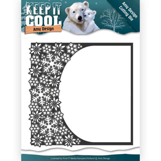 ADD10159 Dies - Amy Design - Keep it Cool - Cool Rounded Frame