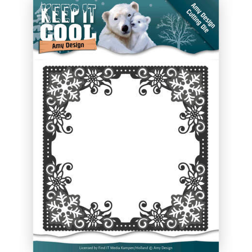 ADD10158 Dies - Amy Design - Keep it Cool - Cool Square Frame