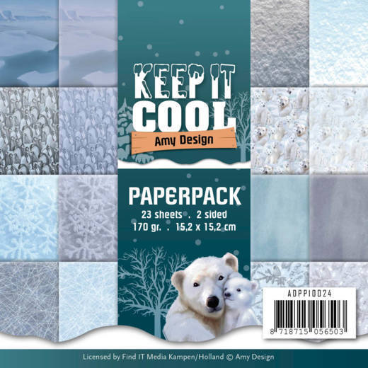 ADPP10024 Paperpack - Amy Design - Keep it Cool