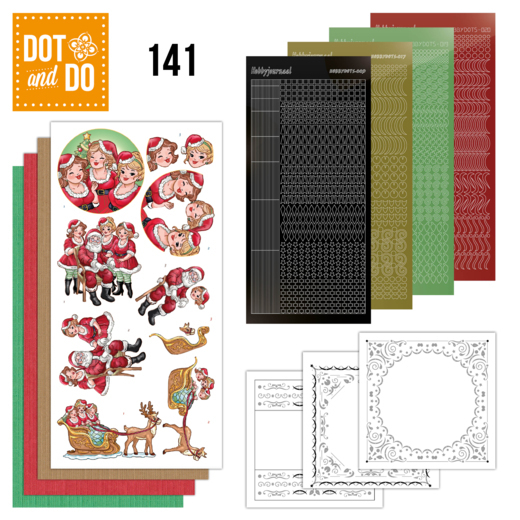 DODO141 Dot & Do 141 Bubbly Girls Xmas