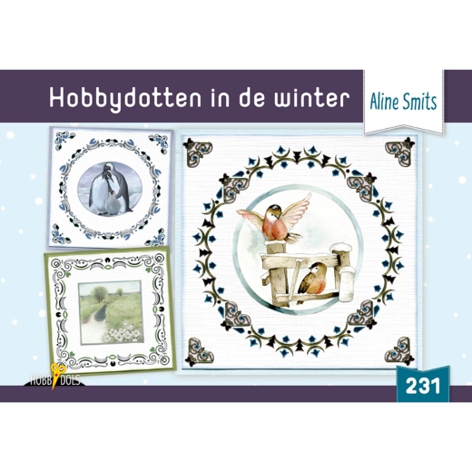 HD231 Hobbydols 231 Hobbydotten in de winter - Aline Smits