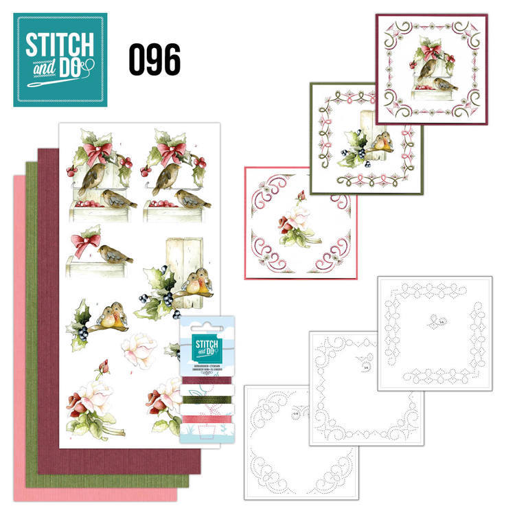STDO096 Stitch and Do 96 - Winter Birds