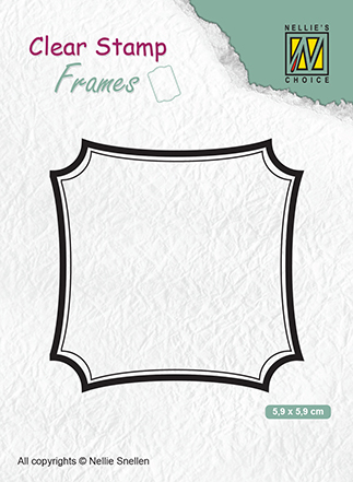 CSFR001 Clear Stamps Frames square