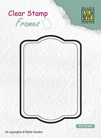 CSFR002 Clear Stamps Frames rectangle