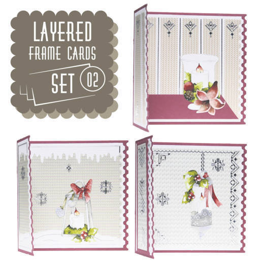 LFCS10002 Layered Frame Cards SET 02