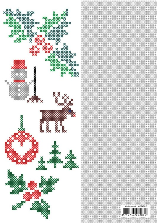CCPAT017 CrossCraft Patterns-17 Christmas-4