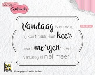 SENCS011 Dutch Sentiments Vandaag is de dag..