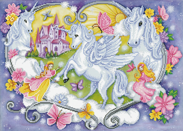 DD12.032 Diamond Dotz® - 66x47cm Princess Magic (#1901)